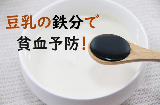 豆乳 鉄分
