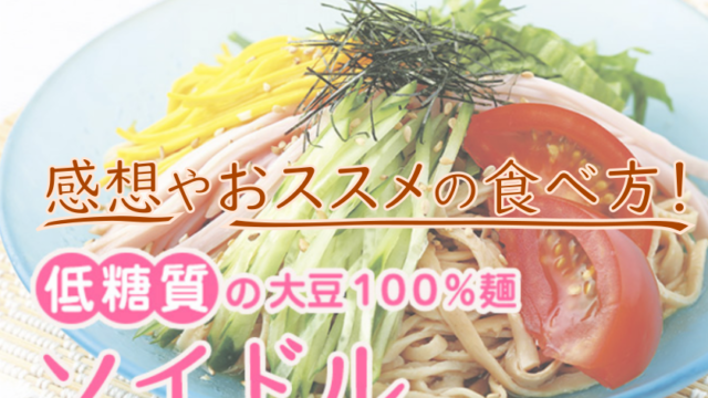 大豆麺 ソイドル