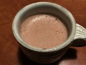 ホット豆乳 ココア