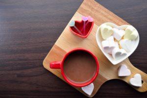 ホット豆乳 チョコレート